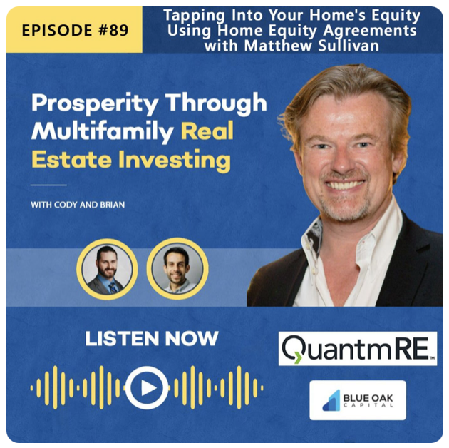 Prosperity Through Multifamily Real Estate Investing Podcast, featuring Matthew Sullivan from QuantmRE