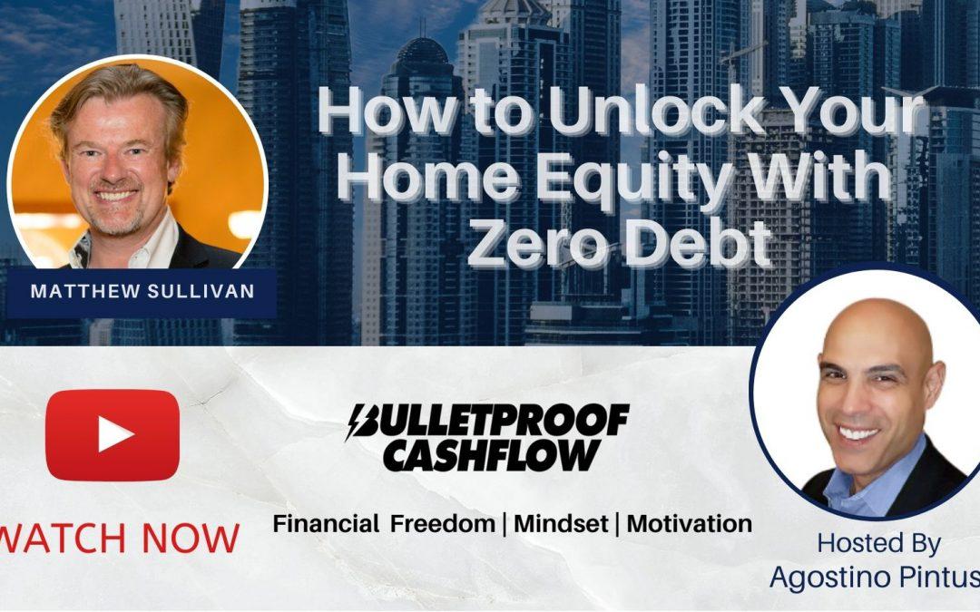 Matthew Sullivan interviewed by Agostino Pintus on the Bulletproof Cashflow Podcast